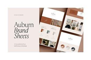 Auburn 24 Brand Sheets