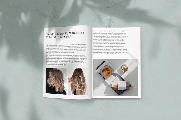 Magazine Mockup in Scene Creator Mockups - product preview 1