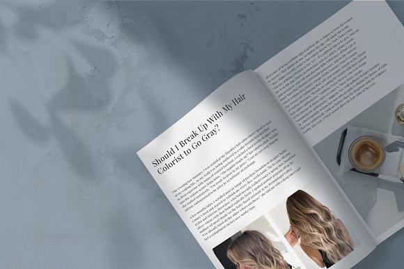 Magazine Mockup in Scene Creator Mockups - product preview 2