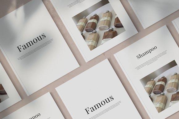 Magazine Mockup in Scene Creator Mockups - product preview 3