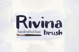 Rivina Brush +30 Watercolor Textures