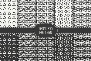 Seamless pattern with triangle