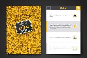 Dubai brochure template