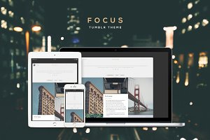 Focus Tumblr Theme