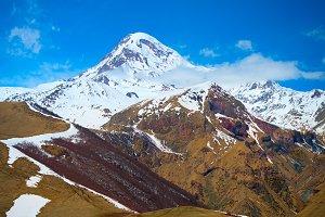 Kazbek mountain view, Georgia