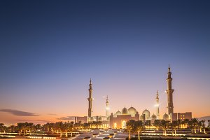 Sheikh Zayed Grand Mosque Abu-Dhabi