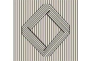 Optical illusion line art