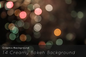 14 Creamy Bokeh Background