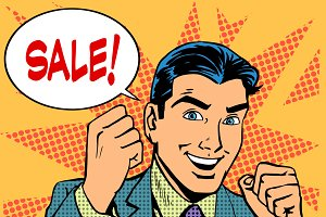 Male businessman sale