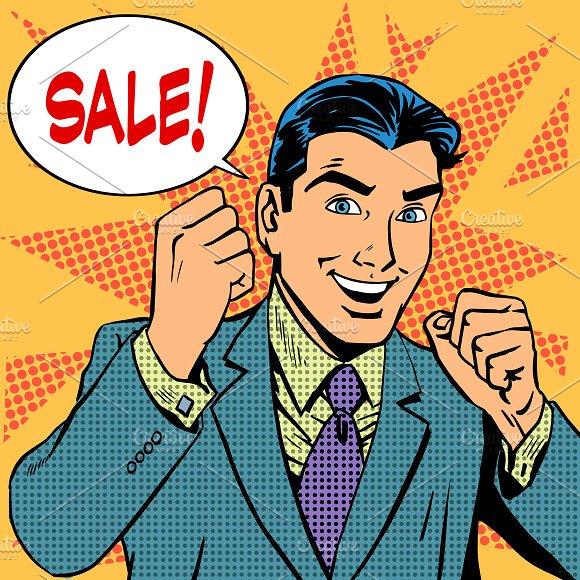 Male businessman sale