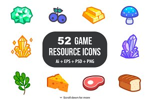 Game Resource Icons