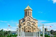 View of Sameba church