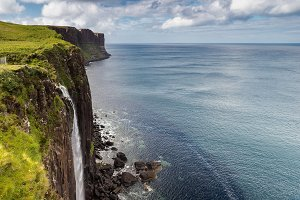 Kilt Rock waterfall, Scotland