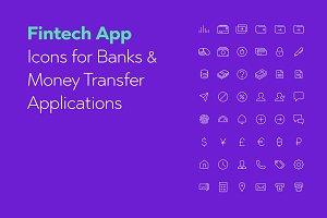 Fintech App Icons