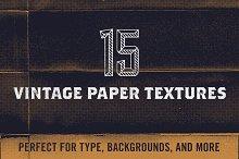 15 Vintage Paper Halftone Textures