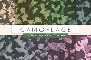Camoflage Digital Paper