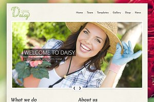 Daisy - Florist WordPress Theme