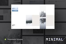 MINIMAL Powerpoint Template by  in Presentations