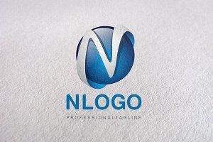 N Letter, Letter N, N logo, logo N