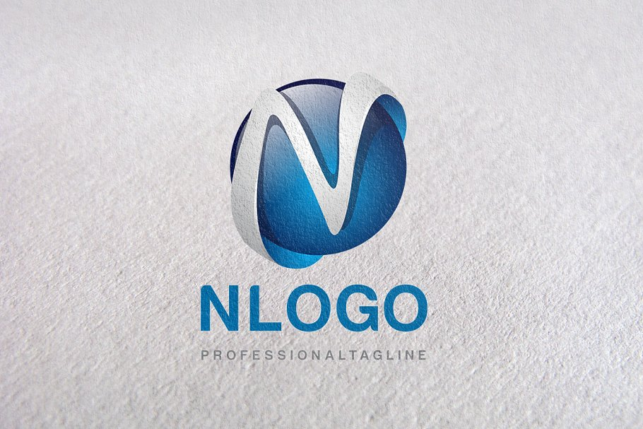 N Letter, Letter N, N logo, logo N in Logo Templates - product preview 8