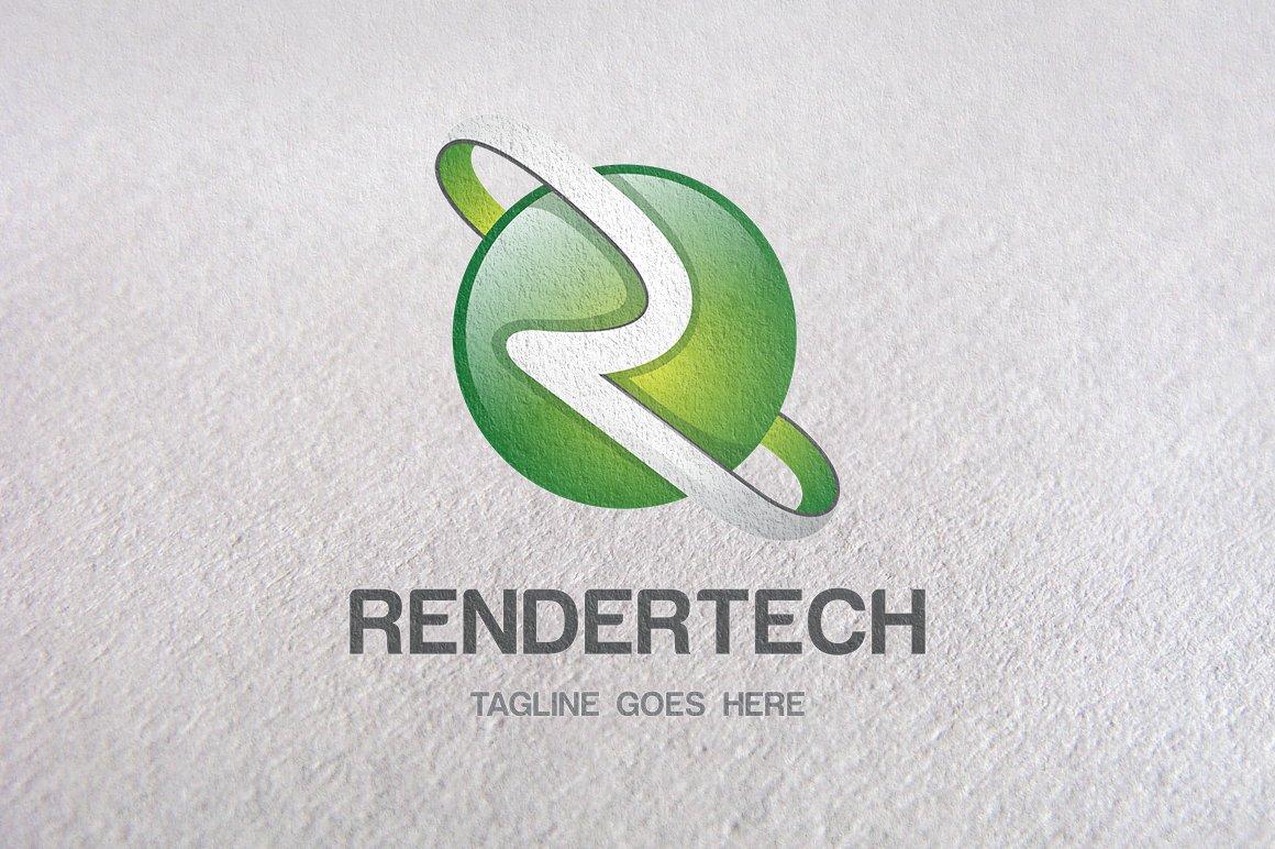 R letter r logo 3d logo templates logo templates creative market altavistaventures Image collections