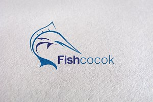 fishing, fish symbol, fish icon Logo