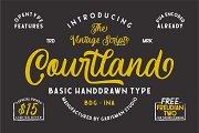 Courtland Handdrawn