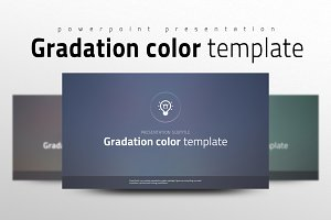 Gradation Color Template