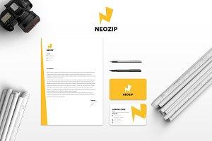 Neozip Brand Identity