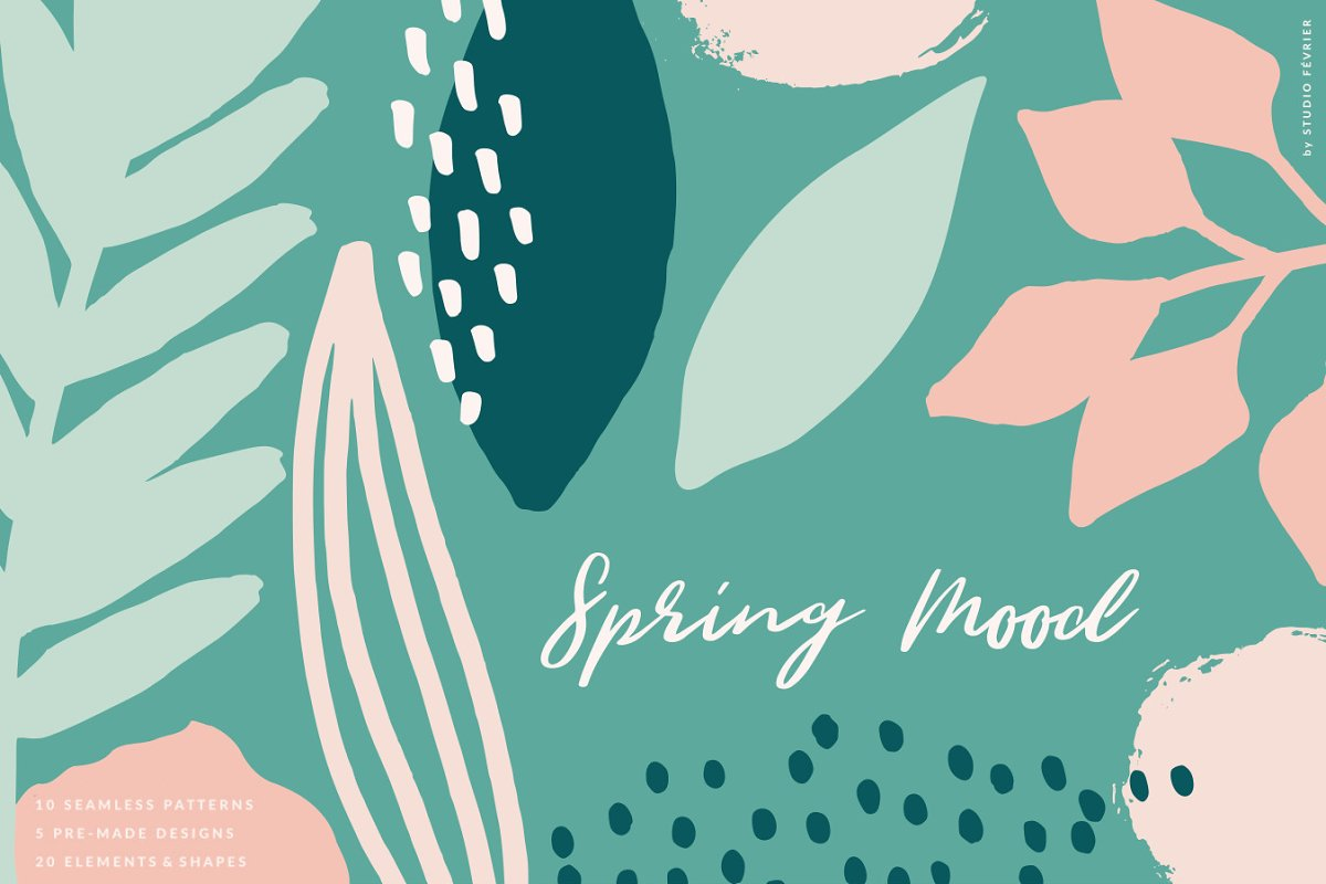 Spring Mood | Patterns + Elements in Patterns