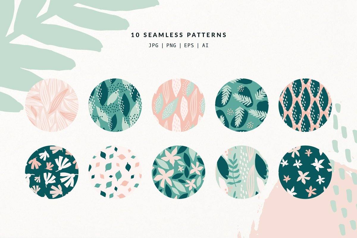 Spring Mood   Patterns + Elements in Patterns - product preview 5