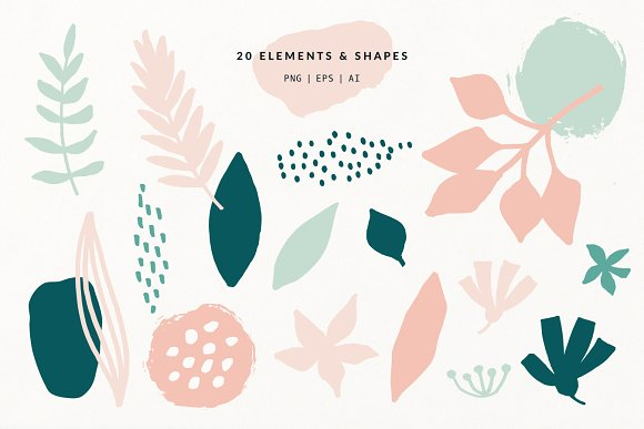 Spring Mood | Patterns + Elements in Patterns - product preview 7