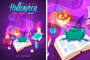 Halloween cardposter
