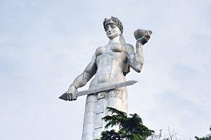 Famous Mother Georgia statue,Tbilisi