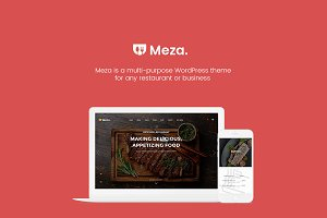 Meza - Restaurant WordPress Theme