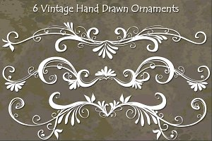 Vintage Hand Drawn Vectors