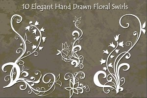 Elegant Hand Drawn Ornaments
