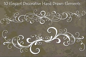 Decorative Hand Drawn Vectors