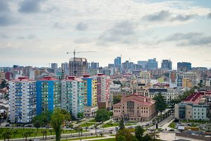 Skyline of Batumi city, Gergia