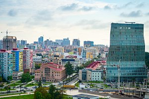 Colorful Batumi city, Georgia