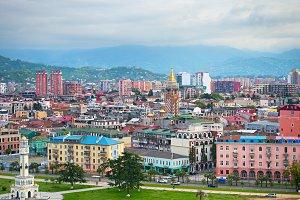 Batumi panorama, Georgia