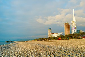 Batumi seaside, Georgia