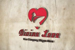 Divine Love Logo Template