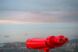 Viewpoint binocular,Batumi,Georgia