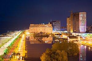 Batumi embankment, Georgia