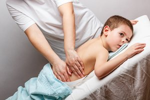 Children massage