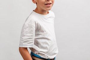 Boy wearing bracelets