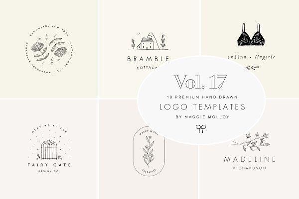 d46277816 Logo Templates  Maggie Molloy - Feminine ...