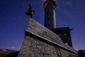 Punta Nariga lighthouse, Spain