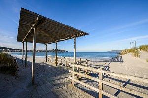 Laxe beach, Galicia, Spain